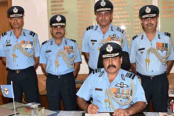 air marshal rakesh kumar singh bhadauria became new air force chief
