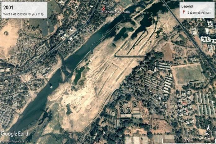वर्ष 2001ः साबरमती रिवरफ्रंट, गुजरात