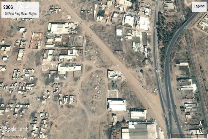 वर्ष 2006ः 150 फीट रिंग रोड, रोजकोट, गुजरात