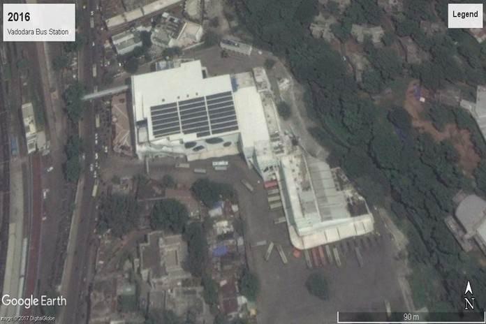वर्ष 2016ः वडोदरा बस स्टेशन, गुजरात